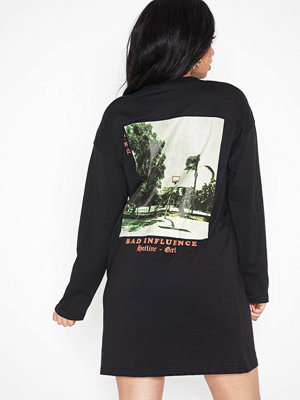 Missguided Oversized T-shirt Dress Bad Influence