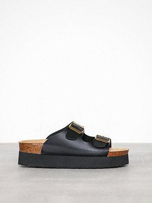 Sandaler & sandaletter - Duffy Platform Slipper Svart