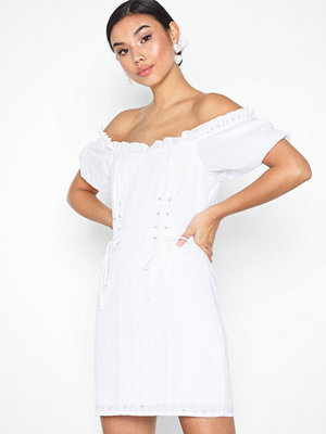 NLY Trend Lacing Off Shoulder Dress