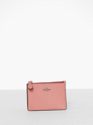 Plånböcker - Coach Crossgrain Mini Id Skinny Light Blush