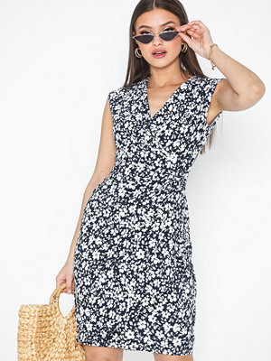 Lauren Ralph Lauren Rodya-Cap Sleeve-Day Dress