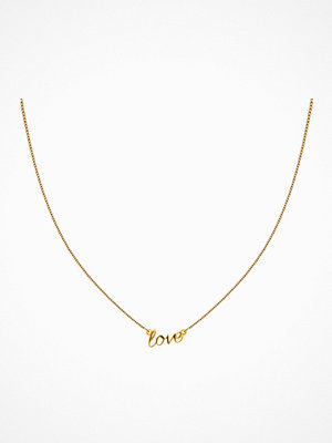 Syster P halsband Snap Necklace Love