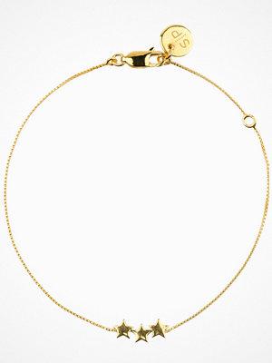 Syster P armband Snap Bracelet Plain Triple Star