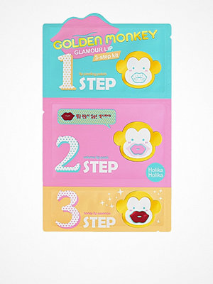 Ansikte - Holika Holika Golden Monkey Glamour Lip 3-Step Kit