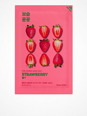 Ansikte - Holika Holika 5-Pack Pure Essence Sheet Mask Strawberry