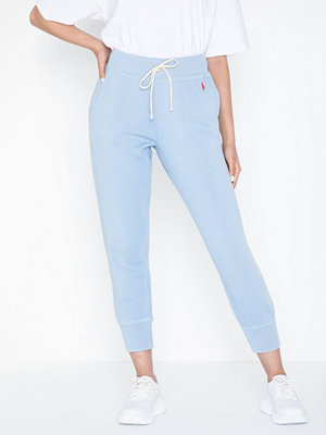 Polo Ralph Lauren himmelsblå byxor Sweatpant-Ankle-Pant