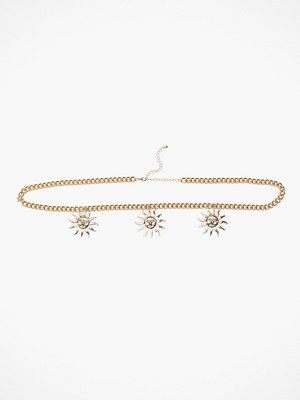 Missguided Jewelry halsband Sun Belly Chain