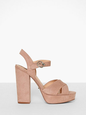 Only onlALLIE Wide Crossed Heeled Sandal