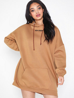 Missguided New Oversized Hoodie Dress