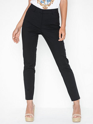 NLY Trend svarta byxor Slim High Waist Pants