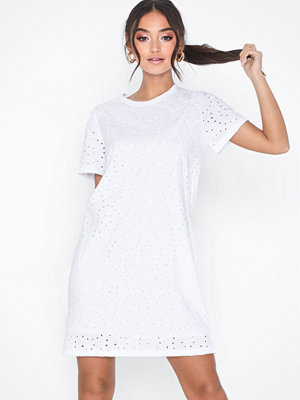 Polo Ralph Lauren Eyelet Drs-Short Sleeve-Casual Dress