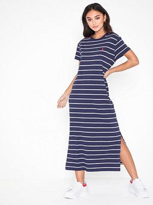 Polo Ralph Lauren Stripe t Drs-Short Sleeve-Casual Dress