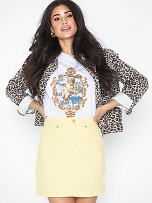 Gina Tricot Hi-waist Short Denim Skirt