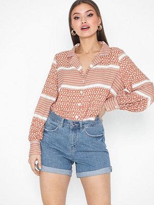 Only onlATHENA L/S Shirt Wvn
