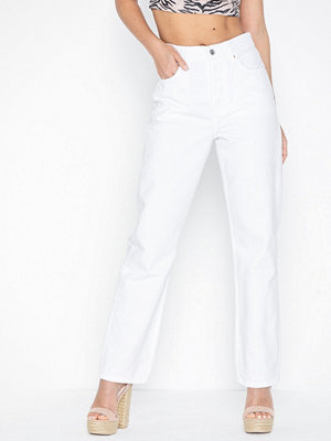Topshop White Dad Jeans