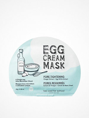 Ansikte - Too Cool For School Egg Cream Mask Pore Tightening