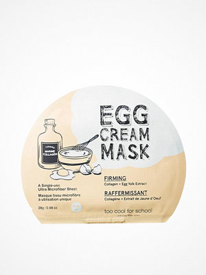 Ansikte - Too Cool For School Egg Cream Firming Mask