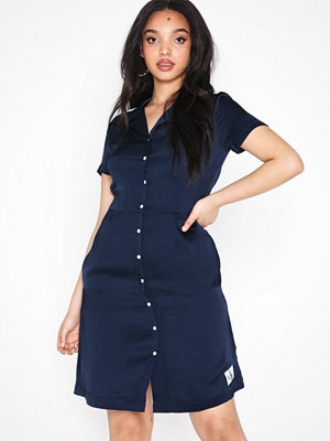 Calvin Klein Jeans Satin Block Diner Dress