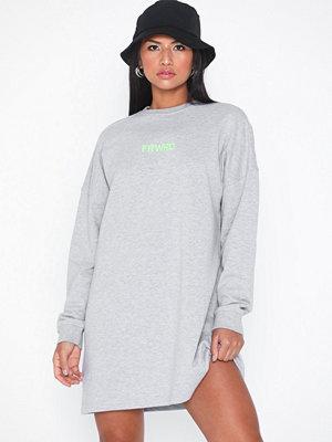 Missguided Slogan Sweater Dress