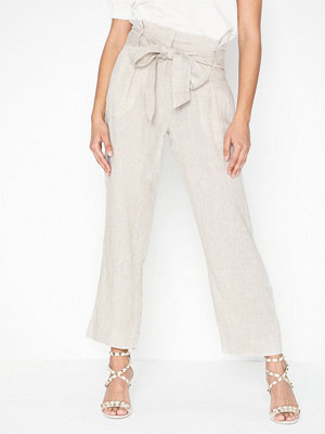 Morris vita byxor Elba Linen Trousers