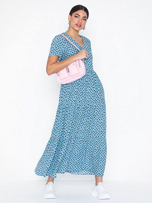 Calvin Klein Jeans Midi Gathered Ss Dress