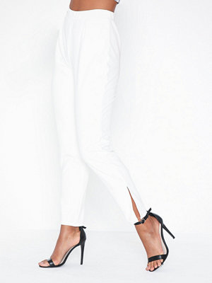NLY Trend vita byxor Crepe Slit Pants