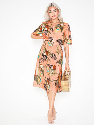 Morris Donna Printed Linen Dress