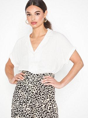 Jacqueline de Yong Jdyjojo S/S Shirt Wvn Rd Vit