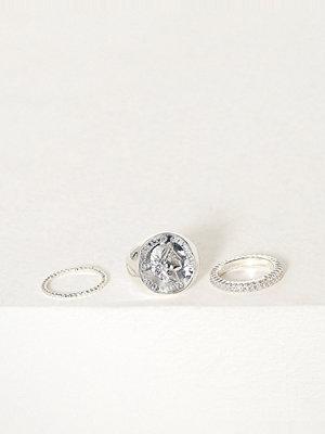 Pieces Pcmoniqa Ring Set 3-Pack D2D