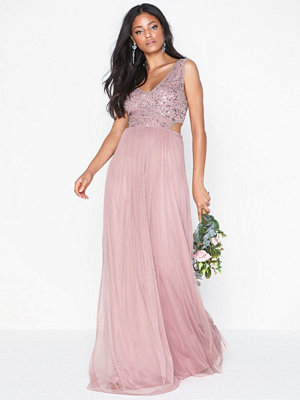 NLY Eve Sparkle Cut Out Gown