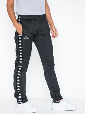 Kappa svarta byxor Pants, Astoria Snap Banda