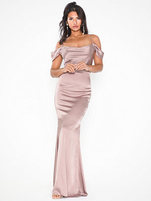 Missguided Bridesmaids Satin Maxi