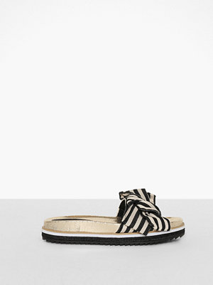 River Island Stripe Bow Sandals