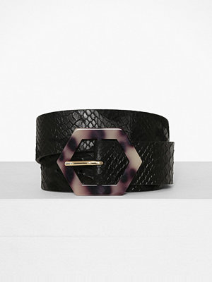 Topshop Hair Crocodile Tortoiseshell Belt