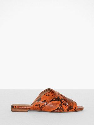 Topshop Neon Flat Sandals