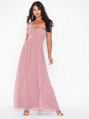 Little Mistress Blush Bandeau Maxi
