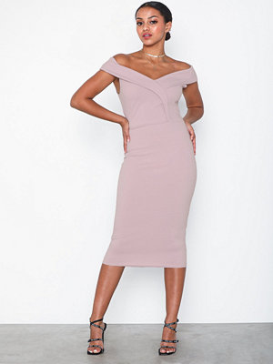 Missguided Bardot Midi Dress