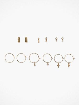 Missguided Jewelry örhängen Rhinestone Stud & Hoop Multipack