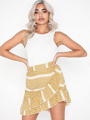 Only onlATHENA Wrap Skirt Wvn
