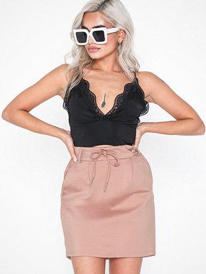 Only onlPOPTRASH Easy Skirt Pnt Noos Ljus Rosa