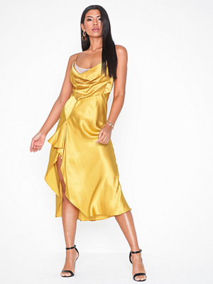 Topshop Lace Back Satin Slip Dress