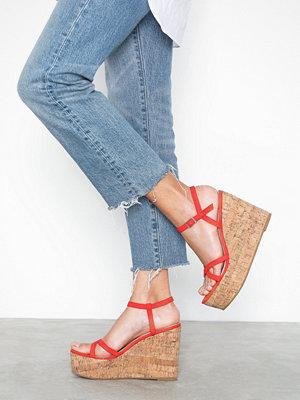 NLY Shoes Strap Wedge Heel Sandal