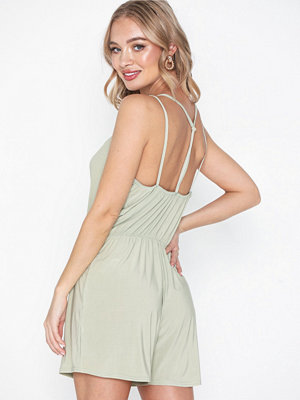 NLY Trend Strappy Back Playsuit