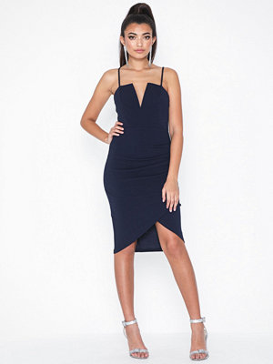 Ax Paris Strappy V Neck Dress