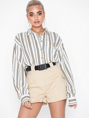 Topshop Stripe Casual Shirt