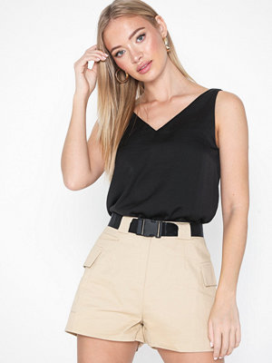 Toppar - Only Onldebbie V Neck Top Wvn