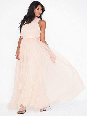 Little Mistress Nude Frill Maxi