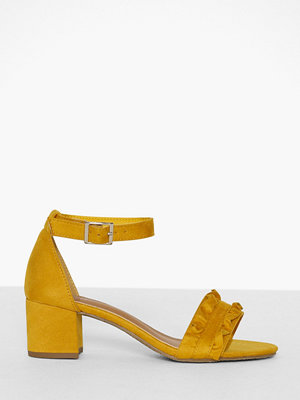 Pumps & klackskor - Duffy Frill Block Heel