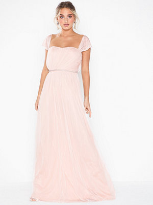 NLY Eve Embellished Waist Mesh Gown