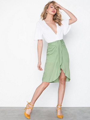 NLY Trend Wrap Front Skirt